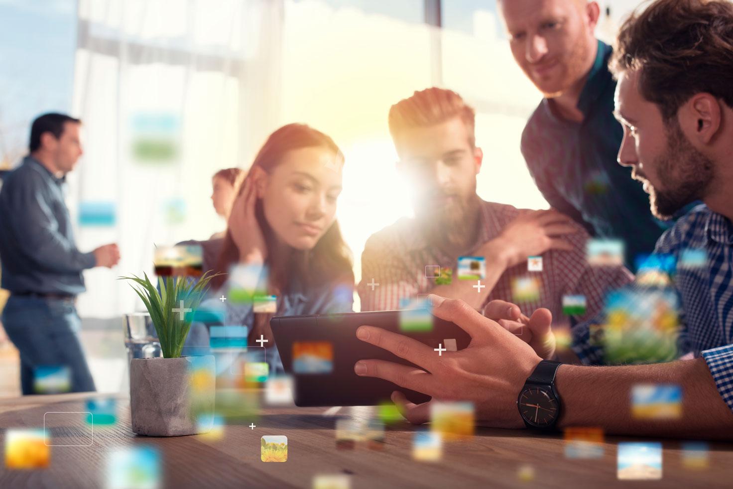 Mistä digitaalinen yhteistyöalusta on tehty